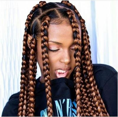 Coiffures Protectrices Hiver 2019 15 Idees De Box Braids Reperees Sur Pinterest Coiffure Coiffure Protectrice Coiffure Tresse