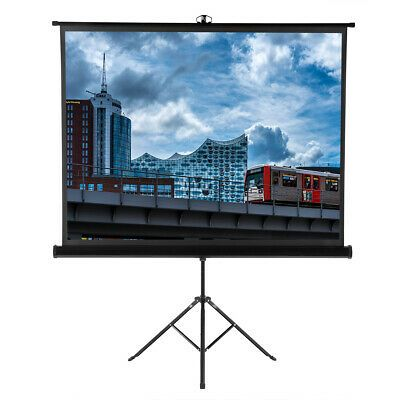 Sponsored New 100inch Portable Pull Up Projector Screen 4 3 Hd Home Theater Outdoor Movie In 2020 Outdoor Movie Screen Outdoor Projection Screen Outdoor Movie
