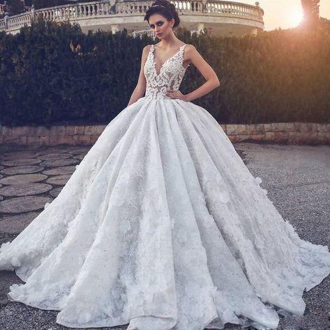Beaded Crystal Wedding Dresses, Bridal Ball | prom dresses