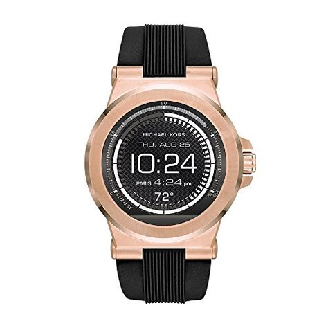 Men's Smartwatches Michael Kors Access Touchscreen Black