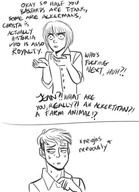 Armin asking the real questions
