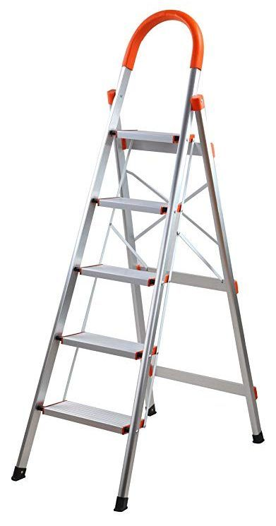 Sharewin Aluminum Step Ladder Folding Home Ladder Folding Ladder Step Ladders Ladder