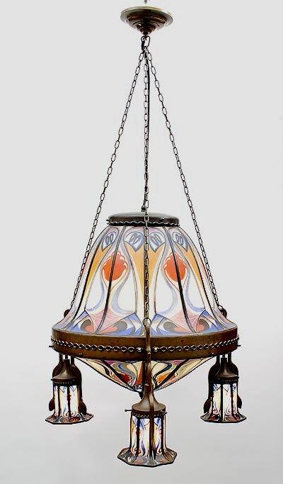 Hanglamp Art Deco Verlichting Art Deco Lampen Amsterdam School