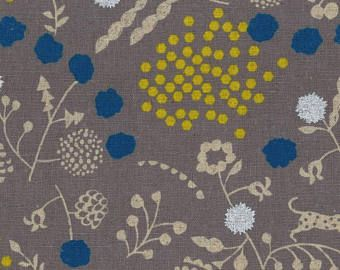Fabric  Echino Sprout Canvas