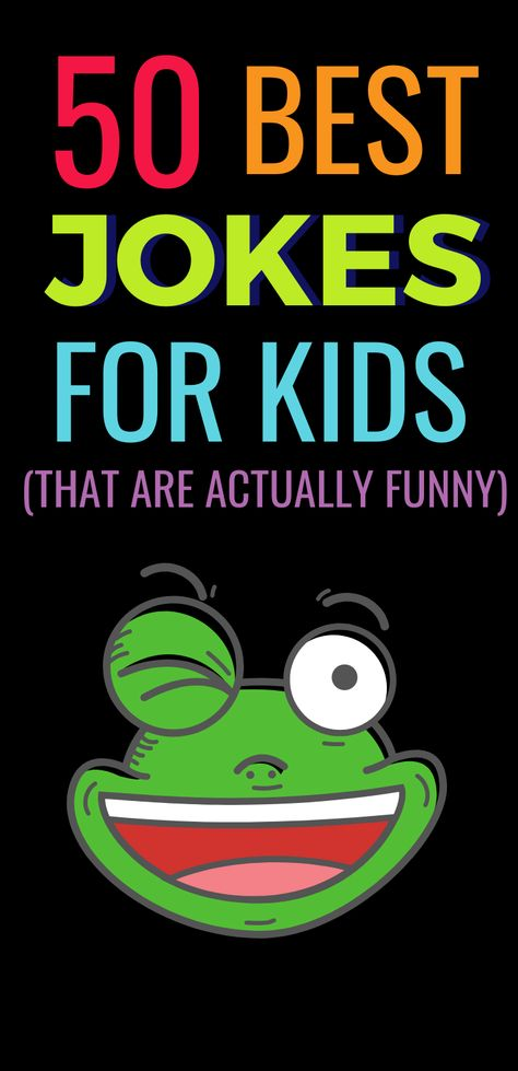Jokes for Kids that are actually funny! Kids jokes are so much fun but not always funny. But these 50 jokes for kids will literally make you lol. Biology Humor, Chemistry Jokes, Grammar Humor, Science Jokes, Science Experiments Kids, Skills To Learn, Play To Learn, Learning Skills, Teaching Tools