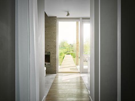 Enzo architectuur & interieur ® rieten kap en strakke lijnen