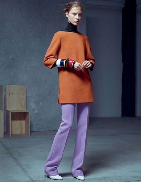 Julia Bergshoeff by Karim Sadli for Vogue UK January 2015 - Fashion Copious