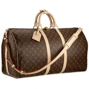 750f52f24 Louis vuitton Monogram Canvas Keepall Weekender 55 With Shoulder Strap This  is my dream bag for romantic getaway to exotic places.