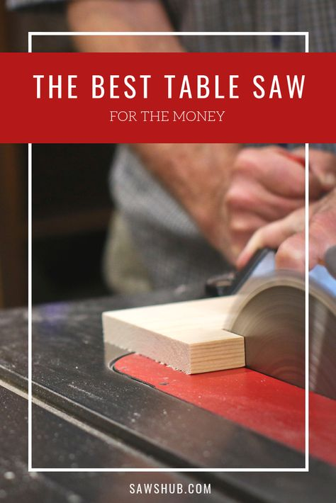 We rank and review the best table saws available to you, spanning a variety of price ranges and needs. If you're looking to pick up this handy power saw for your next DIY home project or remodel, read this review first. #sawshub #DIY #project #woodworking #saw #tablesaw #homeimprovement #houseproject #ripcut