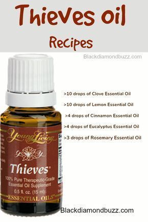 Thieves Oil Recipe Thieves Oil Uses And Benefits Thieves Oil