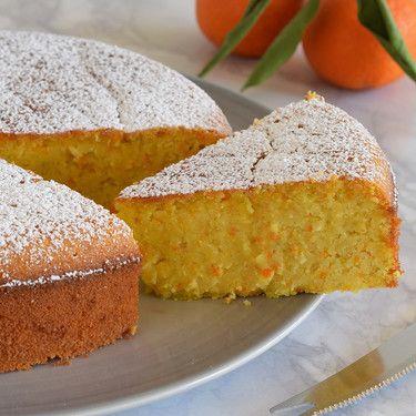 Almendras Directo Al Paladar Torta De Mandarina Reposteria Tortas