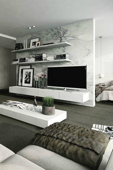 40 Tv Wall Decor Ideas Inspiratie Voor De Woonkamer Pinterest Tv Wall Decor Living Room Decor En Living Room Modern