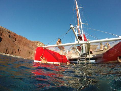 Book Your Tickets Online For Santorini Sailing Fira See 4040 Extraordinary Dream Catcher Boat Santorini