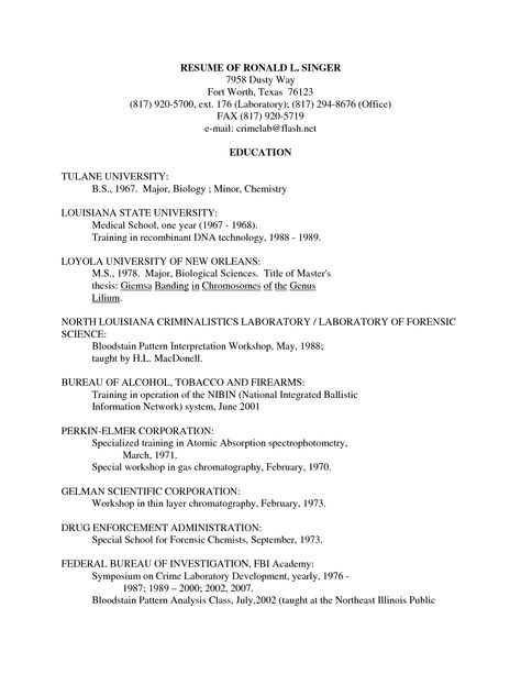 Entomology Scientist Resume - http\/\/wwwresumecareerinfo - hospital pharmacist resume