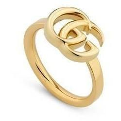 brillance des couleurs magasiner pour le luxe dernière sélection Bijoux bague Gucci pour Femme | couleur: gold | B-SMSX in ...