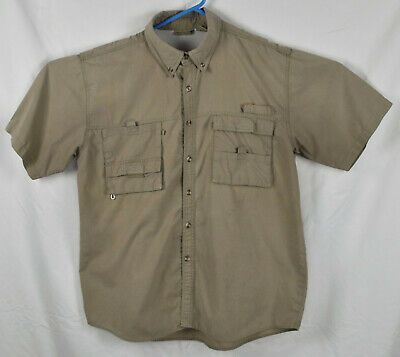 Earth Vented Fishing Shirt Size L