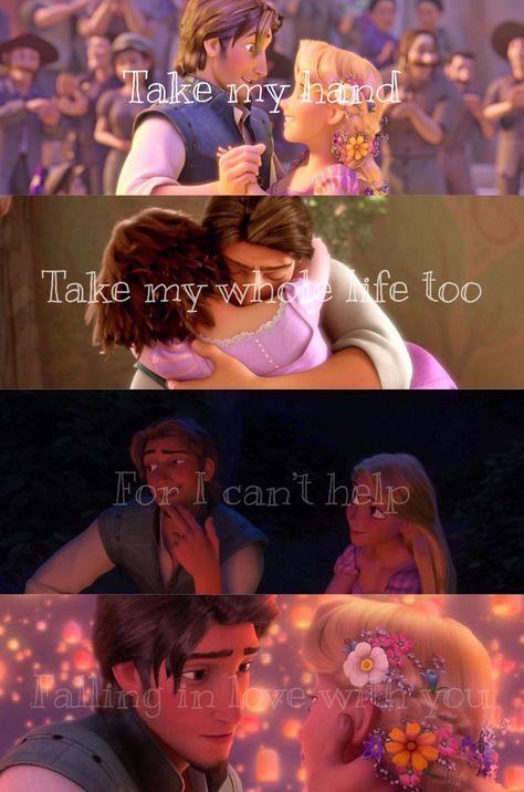 Tangled, Rapunzel and Eugene / Rapunzel and Flynn