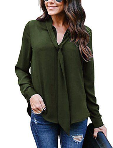 Mode Damen Spitze Shirt Tops Bluse Blusen Oberteile Langarm Rüschen T-Shirt Hemd