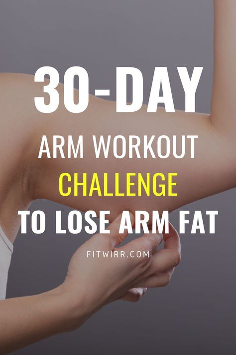 Arm Workout Challenge, 30 Day Arm Challenge, Workout Plans, Arm Toning Exercises, Butt Workouts, Stretches, Lose Arm Fat, Lower Belly Fat, Excercise