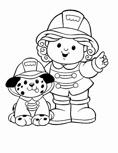 Fire Fighter Coloring Page Luxury Free Firefighter Coloring Pages For Preschoolers Enjoy Dog Coloring Page Kitty Coloring Firetruck Coloring Page