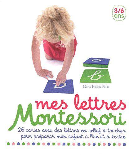 Amazon Fr Mes Lettres Montessori Collectif Livres 4