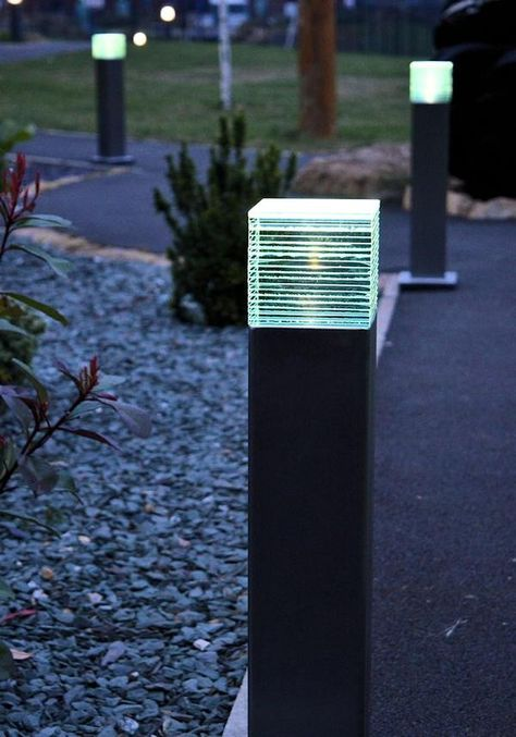 Acier Led Bollard Light Lamparas In 2019