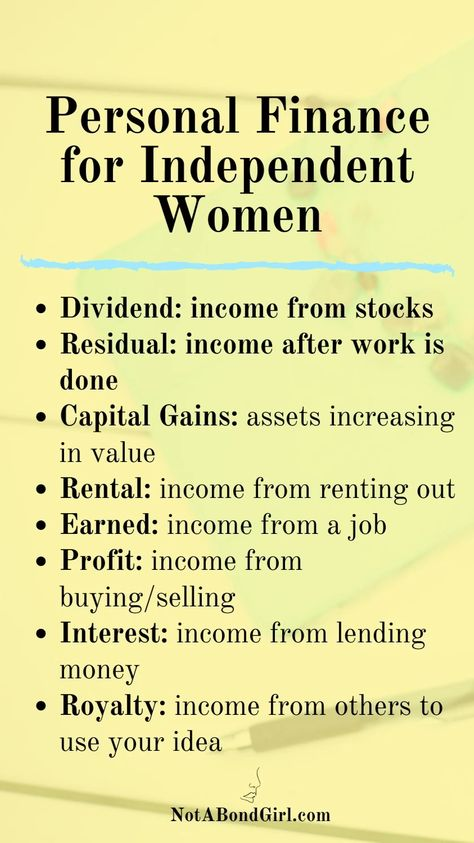 Personal Finance for Independent Women | Career | Money | Business