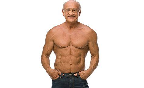 Dr. Jeffrey Life, tiene 70 años y a los 60 años se tomo muy en serio ir al gimnasio.