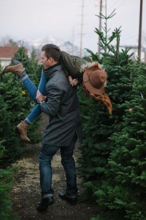 fun picking out tree