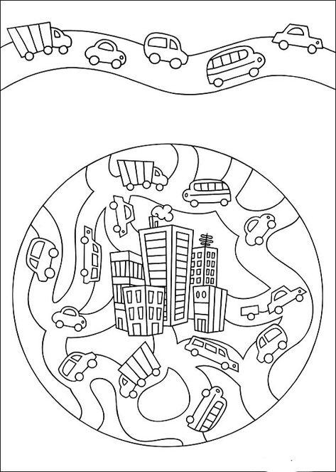 mandalas 6 ausmalbilder für kinder malvorlagen zum