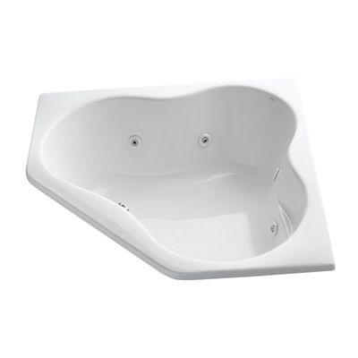 Kohler Co Bathtubs Whirlpool Tub 1154 Cc Proflex 54 In X 54 In Drop In Whirlpool With Custom Pump Location Cornerwhirlpooltub Whirlpool Tub Bathtub Whirlpool Bathtub