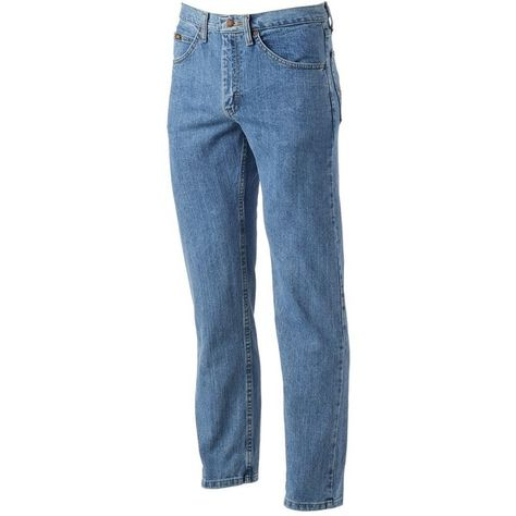 74b2b4cf50 Men's Lee Regular Fit Straight Leg Jeans ($44) ❤ liked on Polyvore  featuring men's