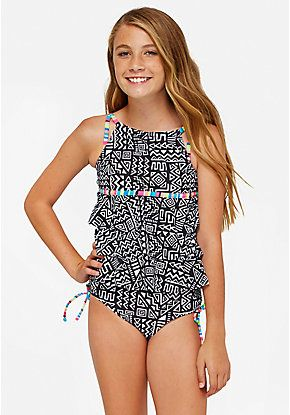 Just Love Girls/' Tankini Bathing Suit Swimwear