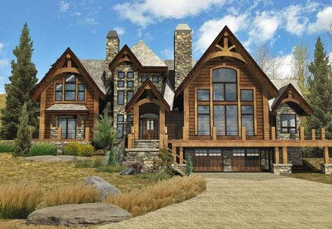 Birch Creek Log Home Floor Plan By Wisconsin Log Homes Log Home Floor Plans Log Homes Log Home Plan