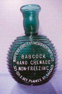 Fire Grenade Bottles