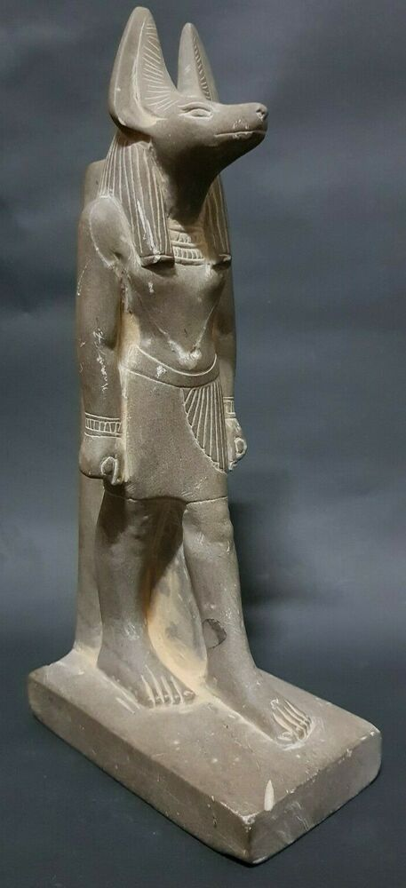 ANCIENT EGYPTIAN ANTIQUES Rare Egypt Statue Of God ANUBIS