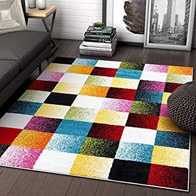 Amazon Com Well Woven Exuberance Multicolor Checkered Boxes