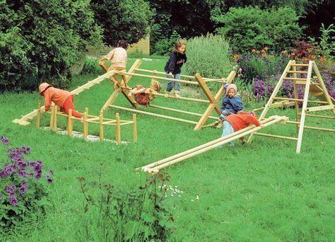 45 Outdoor Playground Areas Every Child Will Love Homimu Com In 2020 Kinderspiel Im Freine Kinderspielbereich Diy Spielplatz