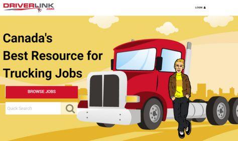 Driverlink.com lance un nouveau site Web et une application destinés aux chauffeurs de camion à la recherche d'un emploi