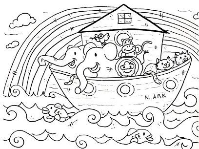 Noah S Ark Sunday School Coloring Pages Sunday School Coloring Pages Bible Coloring Pages Free Bible Coloring Pages