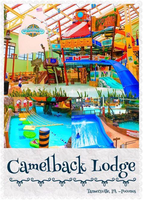 CAMELBACK LODGE ~ Aquatopia Indoor Water Park ~ The Poconos