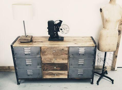 Image Meuble De Vindus Furniture Du Tableau Meuble Industriel