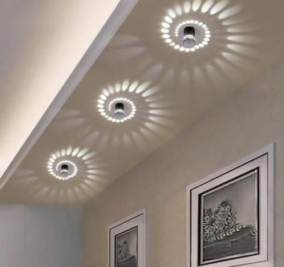 Moderne Geometrische Wand Lampe In 2020 Lighted Bathroom Mirror Light Mirror