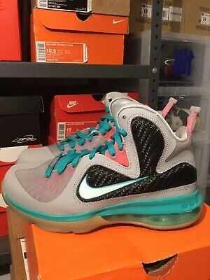 Details About Nike Lebron 9 South Beach Miami Vice Gs Grade School