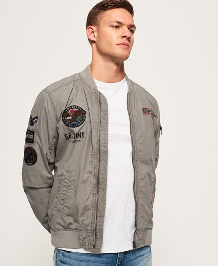 b9a169b53 Product photo of Superdry rookie duty patch bomber jacket | Jackets ...