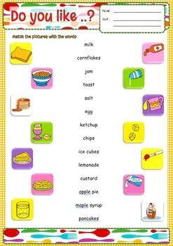 10+ Fun worksheets esl Popular
