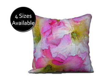 Flowers & Heart Pillowcase Shams (With