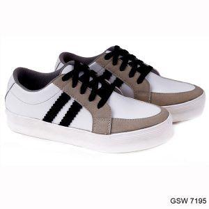 Sepatu Kets Wanita Putih Kom Gsw 7195 Garucci Shoes Sepatu