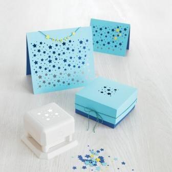 2 x Martha Stewart Noël Flocon de neige bordure bord /& coin Carte Craft Punch RARE