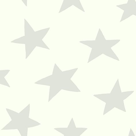 Roommates Peel & Stick Star Wallpaper In Grey